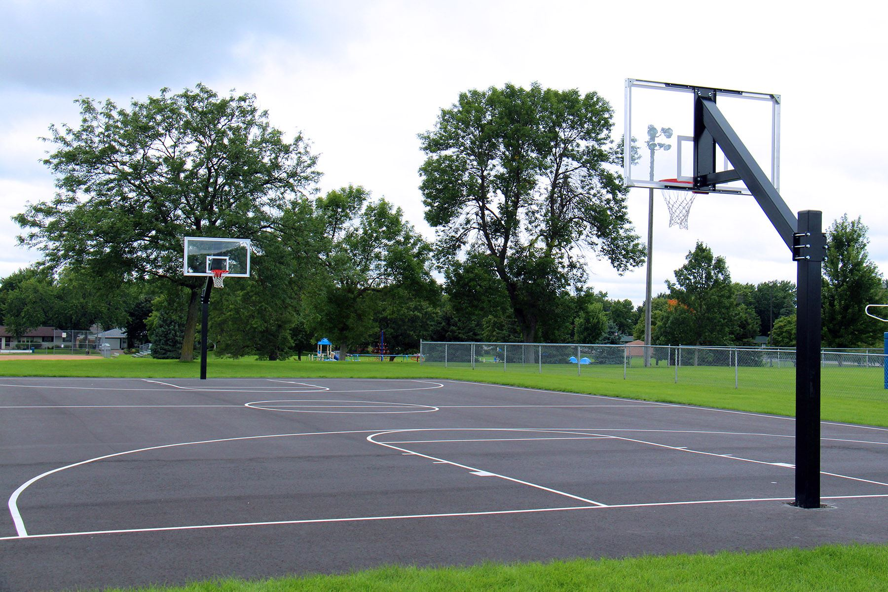 Commons Park Basketball Court