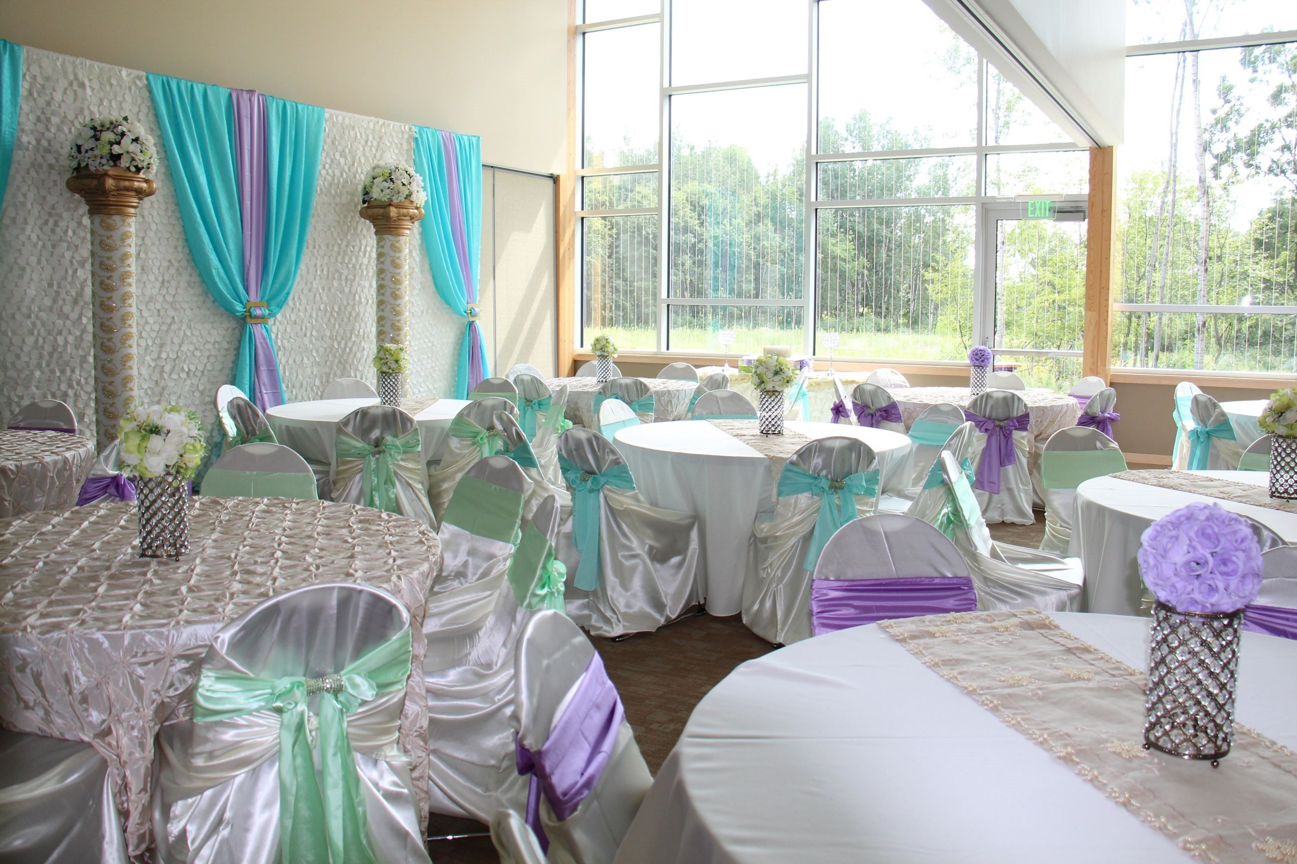 Springbrook decorated banquet room